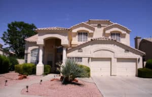 new home built in phoenix waiting for a termite inspection prior to the new family moving in. getting a termite inspection in phoenix is required when you buy or sell property. getting it done right involves calling budget brothers termite and pest